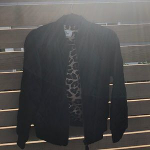Coach Black Bomber Jacket